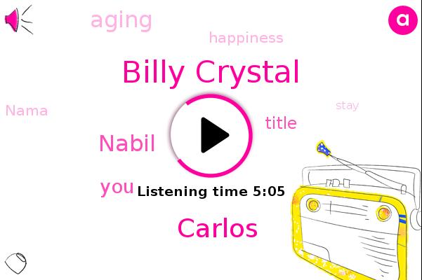 Billy Crystal,Carlos,Nabil
