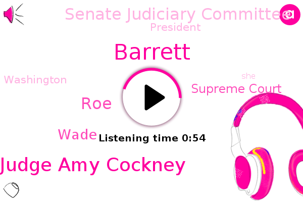 Listen: Judge Amy Coney Barrett declines to express a view on Roe v. Wade