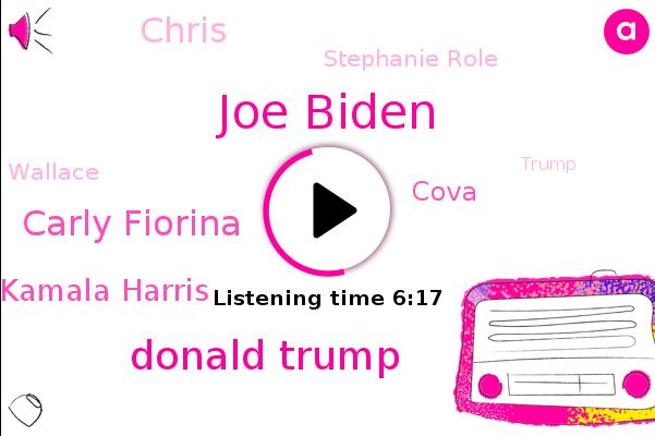 Joe Biden,Donald Trump,Carly Fiorina,The New York Times,Kamala Harris,GOP,President Trump,Cova,Chris,Stephanie Role,Wallace