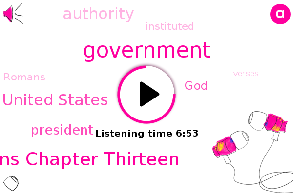 Government,Romans Chapter Thirteen,United States,President Trump