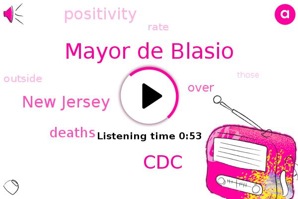 Mayor De Blasio,New Jersey,CDC