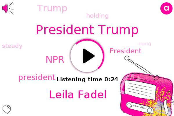 President Trump,Leila Fadel,NPR