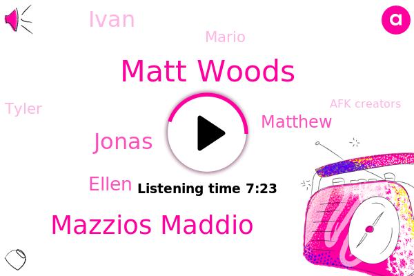 Matt Woods,Mazzios Maddio,Afk Creators,League Of Legends,Youtube,Brands,Jonas,Ellen,Matthew,Ivan,Mario,Tyler,France,AFK,UK
