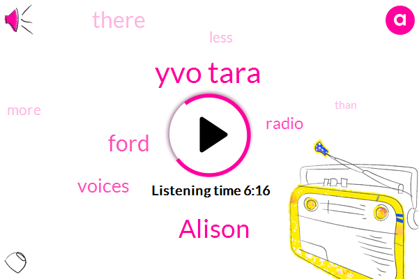 Yvo Tara,Alison,Ford