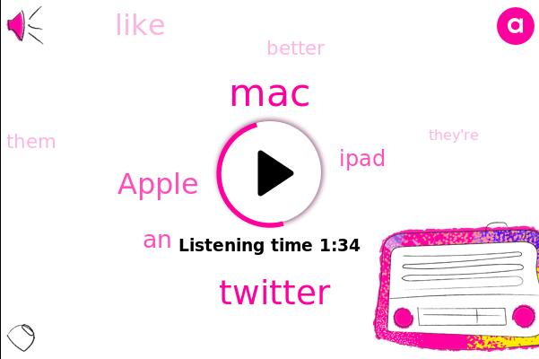 MAC,Twitter,Apple