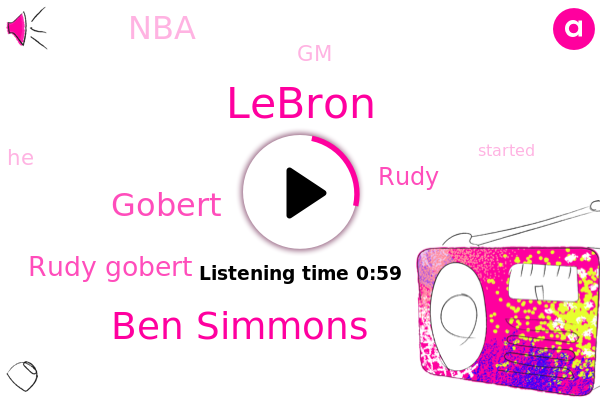 Lebron,Lakers,NBA,GM,Ben Simmons,Gobert,Rudy Gobert,Rudy