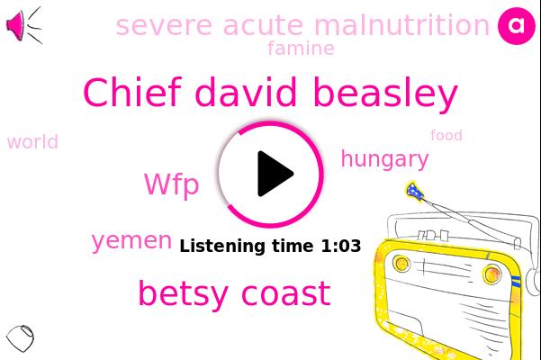 WFP,Chief David Beasley,Yemen,Severe Acute Malnutrition,Hungary,Betsy Coast