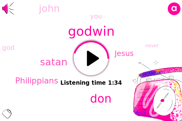 Godwin,DON,Satan,Philippians,Jesus,John