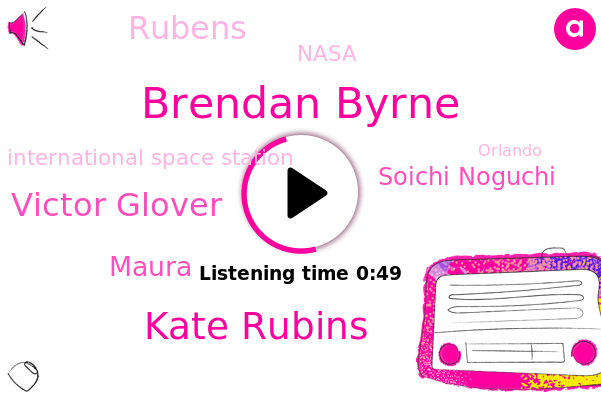 Nasa,Brendan Byrne,Kate Rubins,Victor Glover,International Space Station,Orlando,Maura,Soichi Noguchi,Football,Rubens,Japan