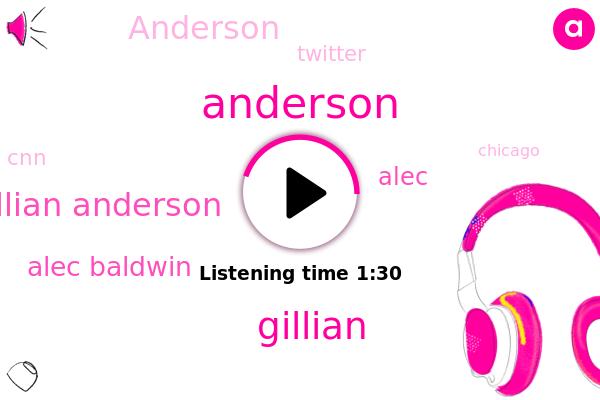 Gillian Anderson,Anderson,Chicago,Alec Baldwin,Michigan,London,Gillian,Twitter,CNN,Alec