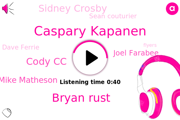 Caspary Kapanen,Bryan Rust,Cody Cc,Penguins,Flyers,Mike Matheson,Joel Farabee,Sidney Crosby,Pittsburgh,Sean Couturier,Dave Ferrie