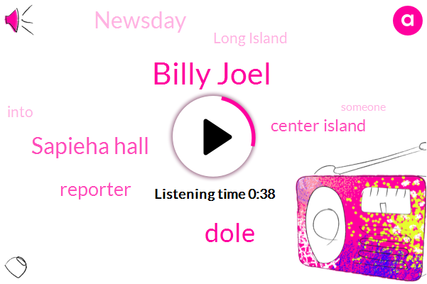 Billy Joel,Sapieha Hall,Center Island,Newsday,Dole,Long Island,Reporter