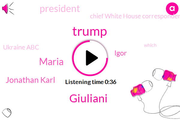 Listen: Recording appears to capture Trump ordering Yovanovitch's firing