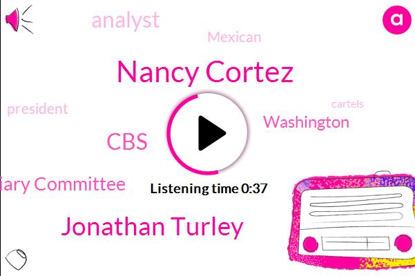 Washington,CBS,Nancy Cortez,House Judiciary Committee,Jonathan Turley,Analyst