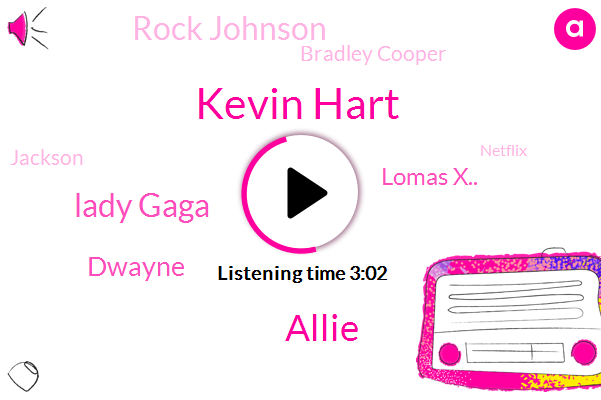 Kevin Hart,Oscars,Jumanji,HBO,Allie,Lady Gaga,Netflix,Dwayne,Lomas X..,Twitter.,Rock Johnson,Bradley Cooper,Jackson