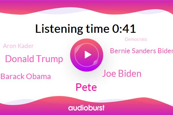 Joe Biden,Pete,New Hampshire,ABC,Donald Trump,Barack Obama,President Trump,Bernie Sanders Biden,Democrats,Aron Kader