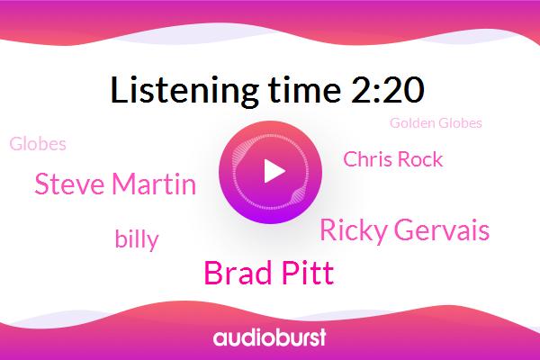 Hollywood,Brad Pitt,Golden Globes,Globes,Ricky Gervais,Oscars,Steve Martin,Billy,Chris Rock