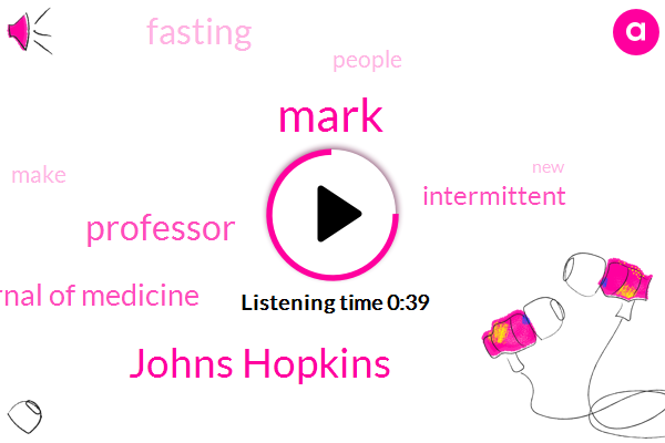 Listen: Johns Hopkins Study Suggests Intermittent Fasting for a Longer, Healthier Life