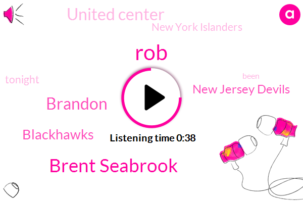 Blackhawks,ROB,New Jersey Devils,United Center,New York Islanders,Brent Seabrook,Brandon
