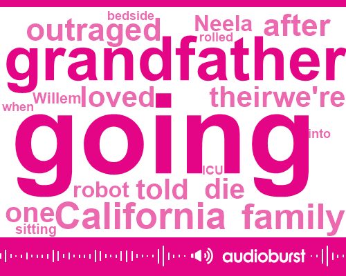 Listen: Doctor delivers end-of-life news via 'robot,' leaving family frustrated