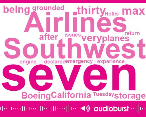 Southwest Airlines,Hollis,Boeing,Senate,Orlando,California
