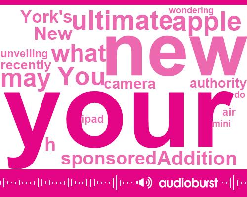 Listen: Repurpose Your Old iPad