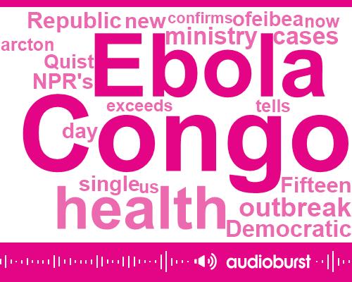 Congo,Ebola,World Health Organization,North Kivu,Quist Arcton,NPR,Fritsch,Seven Months