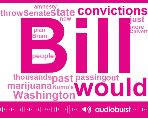 Marijuana,Washington State Patrol,Senator Mike Patton,Brian Calvert,Komo,Washington,Senate,JOE