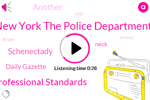New York The Police Department,Daily Gazette,Office Of Professional Standards,Schenectady