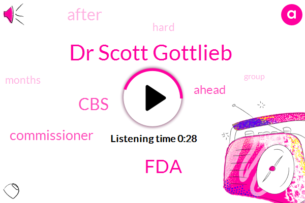 Dr Scott Gottlieb,CBS,FDA,Commissioner