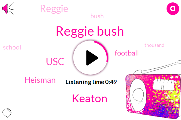 USC,Reggie Bush,Football,Keaton,Heisman