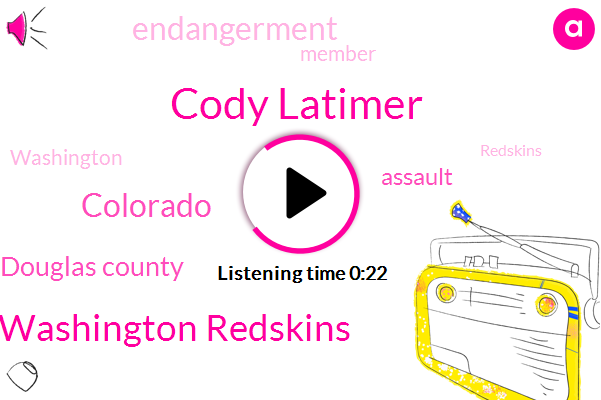 Washington Redskins,Cody Latimer,Assault,Endangerment,Colorado,Douglas County