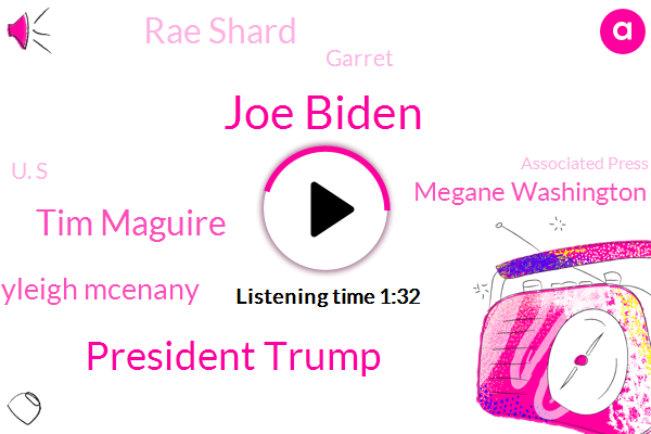 President Trump,Joe Biden,Vice President,Tim Maguire,Press Secretary,Kayleigh Mcenany,Associated Press,Russian Government,White House,Megane Washington,Oval Office,Rae Shard,Garret,U. S,The New York Times,Afghanistan,Atlanta,Soccer