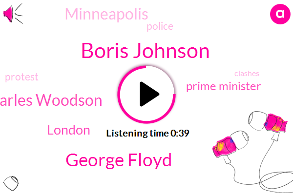 London,Prime Minister,Boris Johnson,George Floyd,Minneapolis,Charles Woodson