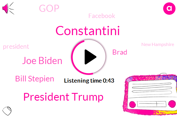 President Trump,Joe Biden,Bill Stepien,GOP,Facebook,Constantini,New Hampshire,Tulsa,Portsmouth,Brad