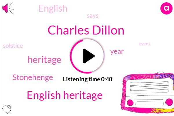 English Heritage,Charles Dillon