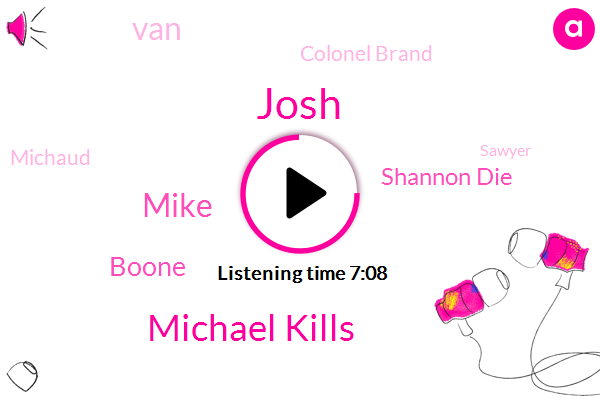Michael Kills,Josh,Mike,Emmy,Baseball,Boone,Shannon Die,Jenga Tower,VAN,Murder,Genre Perspective,Colonel Brand,Clare Jack Connection,Michaud,Sawyer,Libby,ANA,Pete,Hurley,Lucia