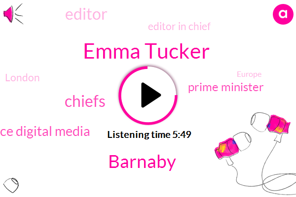 Emma Tucker,Sunday Times,Chiefs,Prime Minister,Editor,Horace Digital Media,Editor In Chief,London,Europe,Barnaby,China,C. Suite