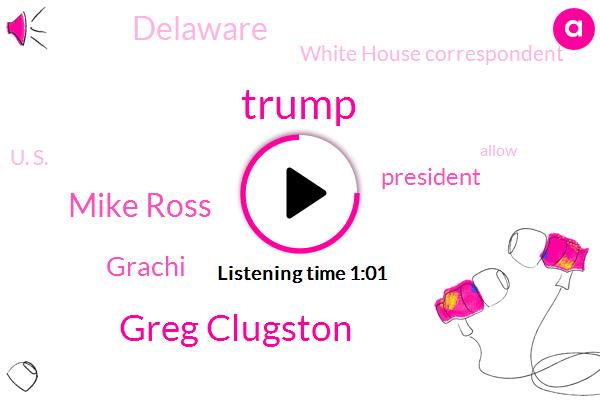 Donald Trump,President Trump,Greg Clugston,Grachi,Delaware,White House Correspondent,U. S.,Mike Ross