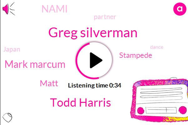 Stampede,Greg Silverman,Todd Harris,Mark Marcum,Nami,Partner,Japan,Matt