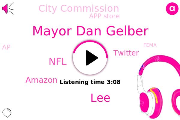 NFL,Amazon,Football,Nfl Network Broadcast,Twitter,Mayor Dan Gelber,CBS,LEE,City Commission,App Store,Miami Beach,Tampa Bay,South Beach,AP,Fema,Florida,Department Of Health,Holland Group Retirement Wealth Advisors