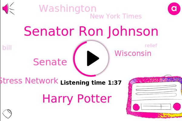 Senator Ron Johnson,Harry Potter,Senate,Wisconsin,New York Times,National Child Traumatic Stress Network,Washington