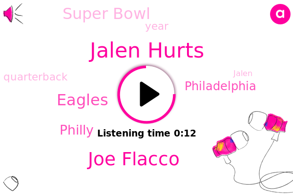 Jalen Hurts,Eagles,Super Bowl,Philly,Joe Flacco,Philadelphia