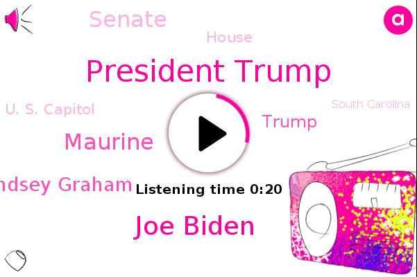 Listen: Lindsey Graham urging Biden to 'call off' impeachment proceedings