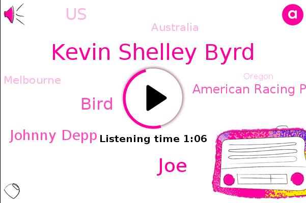 Kevin Shelley Byrd,Pacific Ocean,JOE,Australia,American Racing Pigeon Union,Melbourne,Oregon,United States,Bird,Montgomery,Alabama,Johnny Depp