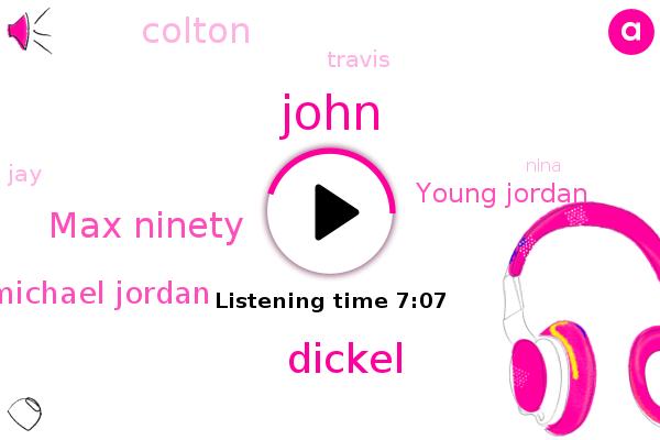 Jordan,Gimme Five Whereas College,Dickel,Max Ninety,Michael Jordan,Young Jordan,Colton,Brighton,NYC,Nike,John,Netflix,Japan,UK,Miami,Travis,JAY,Chicago,Nina