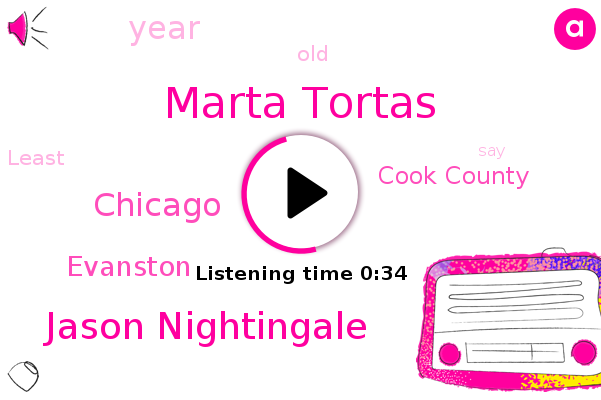 Marta Tortas,Evanston,Chicago,Cook County,Jason Nightingale