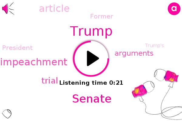 Donald Trump,Senate