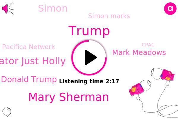 Listen: Former President Trump Headlines Conservative Gathering CPAC