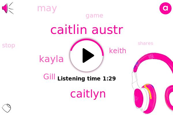 Caitlin Austr,Caitlyn,Kayla,Gill,Keith